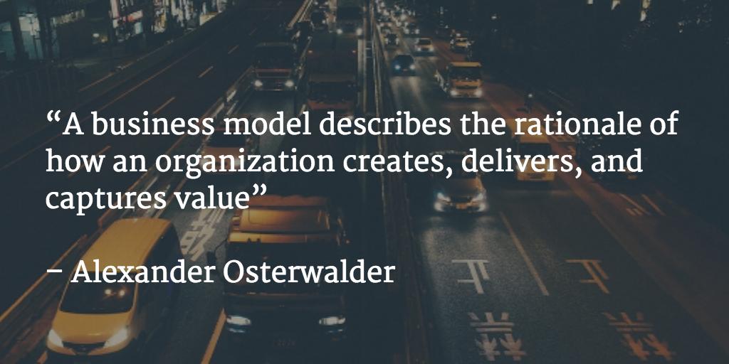 Business Model by Alex Osterwalder